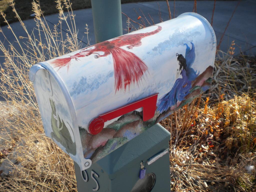 A cool mailbox