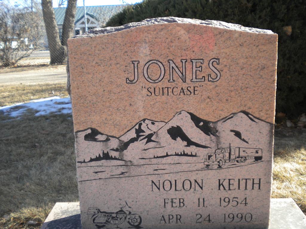 """""""Suitcase"""" Jones front"""