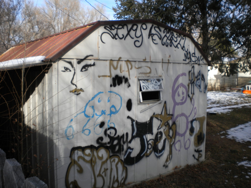 What dark secrets are hidden in the back alleys of Longmont??!?