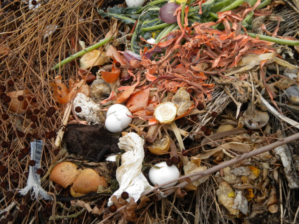 Artistic composting