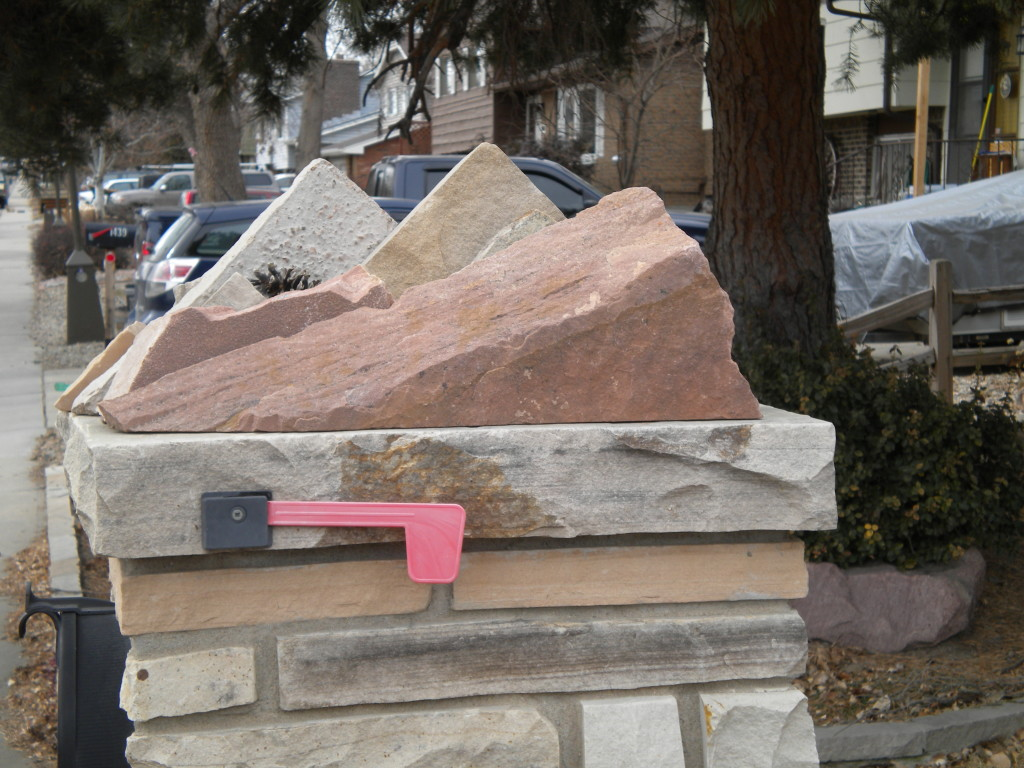 Mailbox of the day --- Boulder Flatirons edition