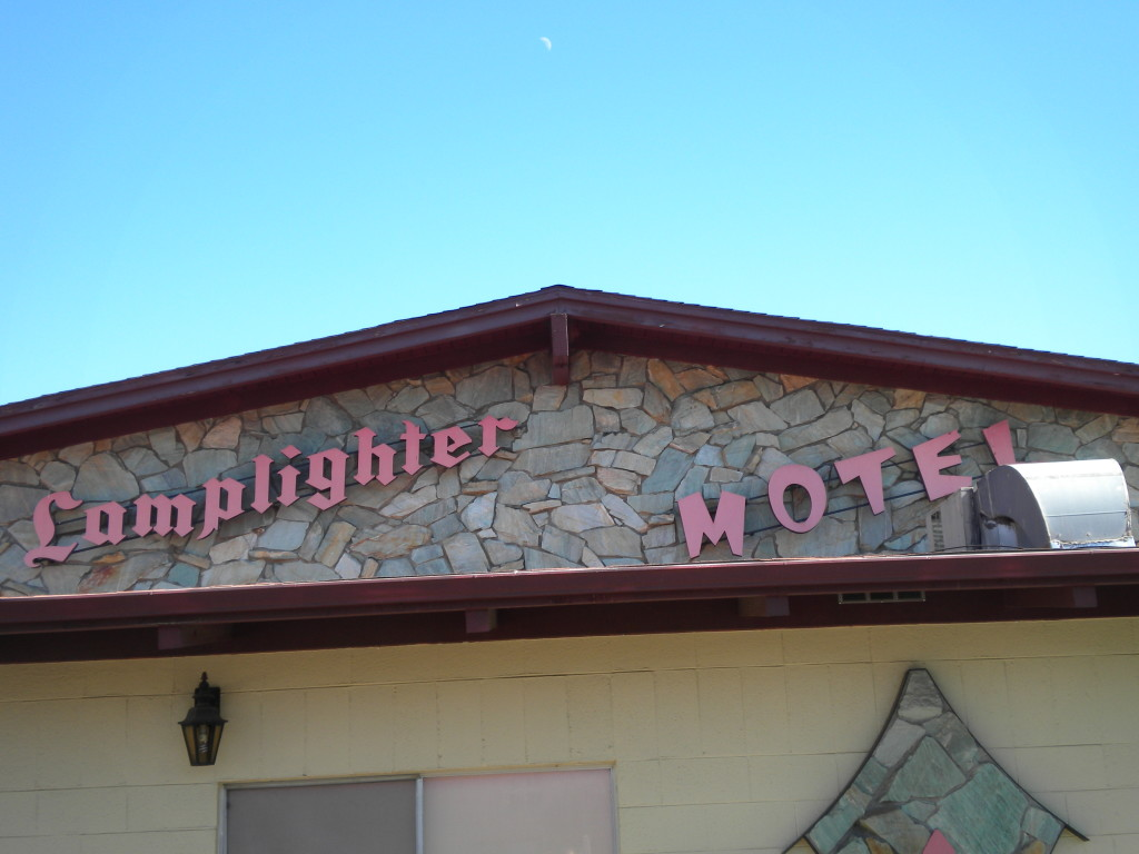 Main Street business  # 2 == 'The Old Lamplighter""