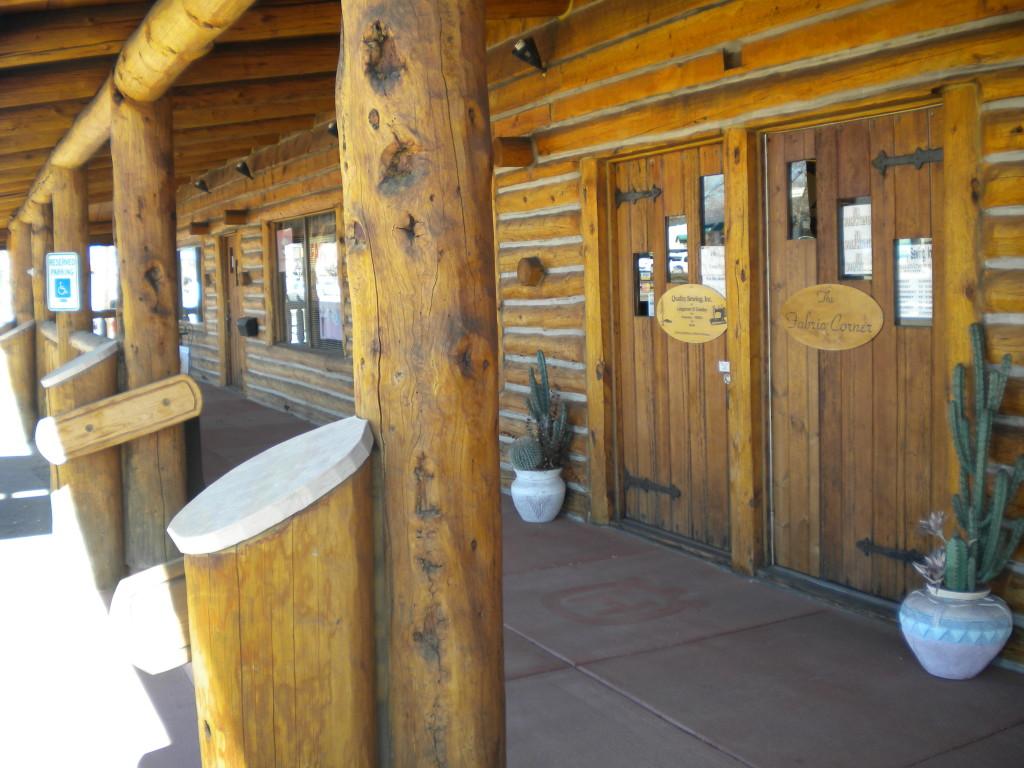 Main Street business(es) # 4 -- Log Cabin