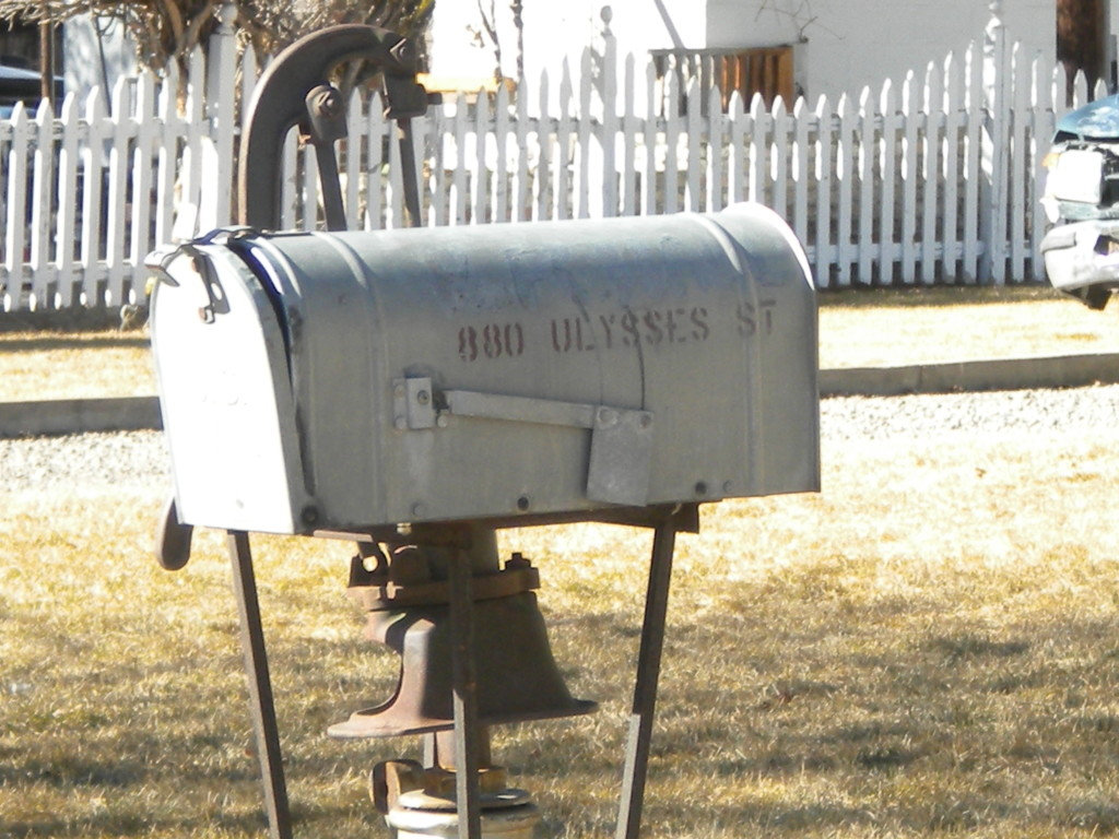 Fooling the postman -- there IS no Ulysses Street in Longmont