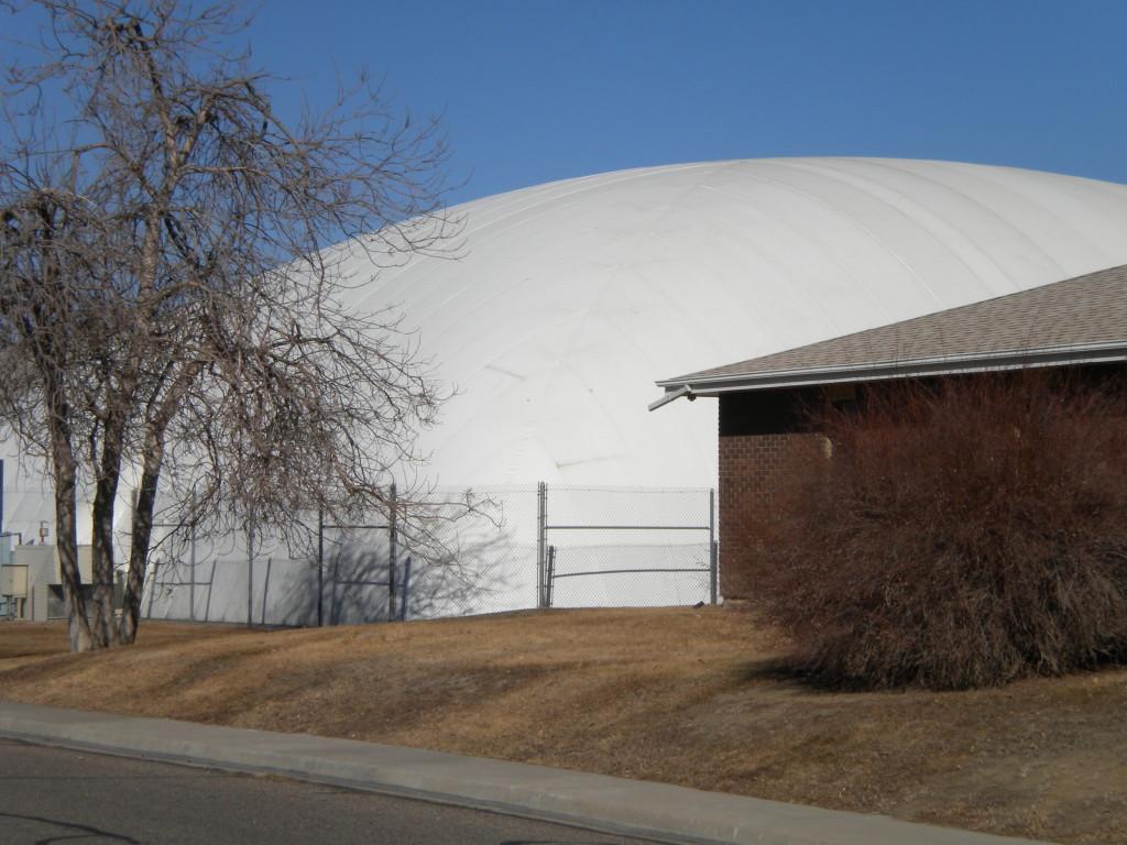 Longmont Athletic Club tennis dome