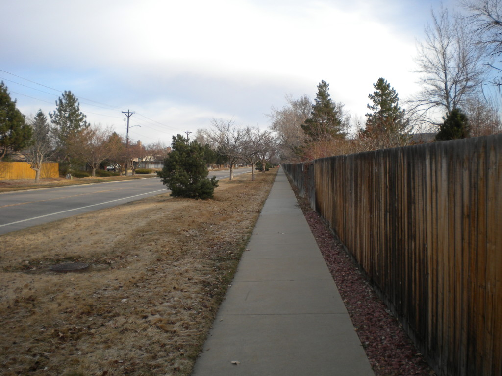 following the straight and narrow (north Francis)