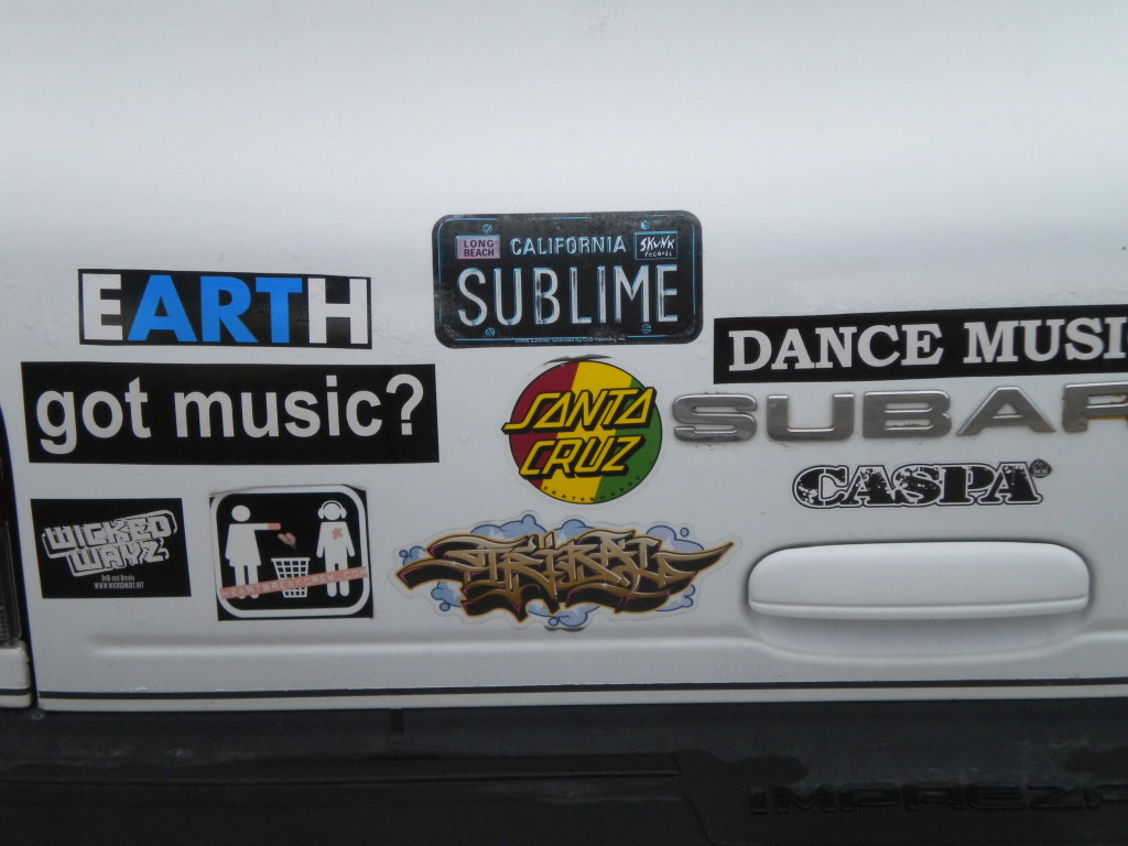 bumper sticker(s) of the day