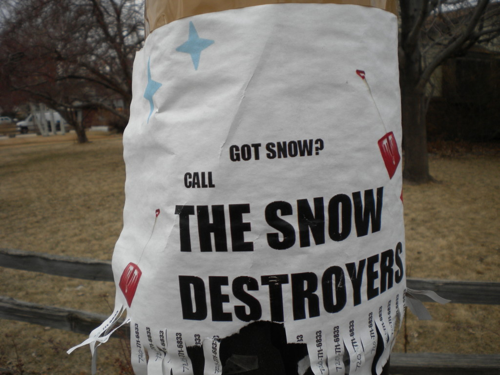 for when you don't just want your snow shoveled... you want it DESTROYED!!!