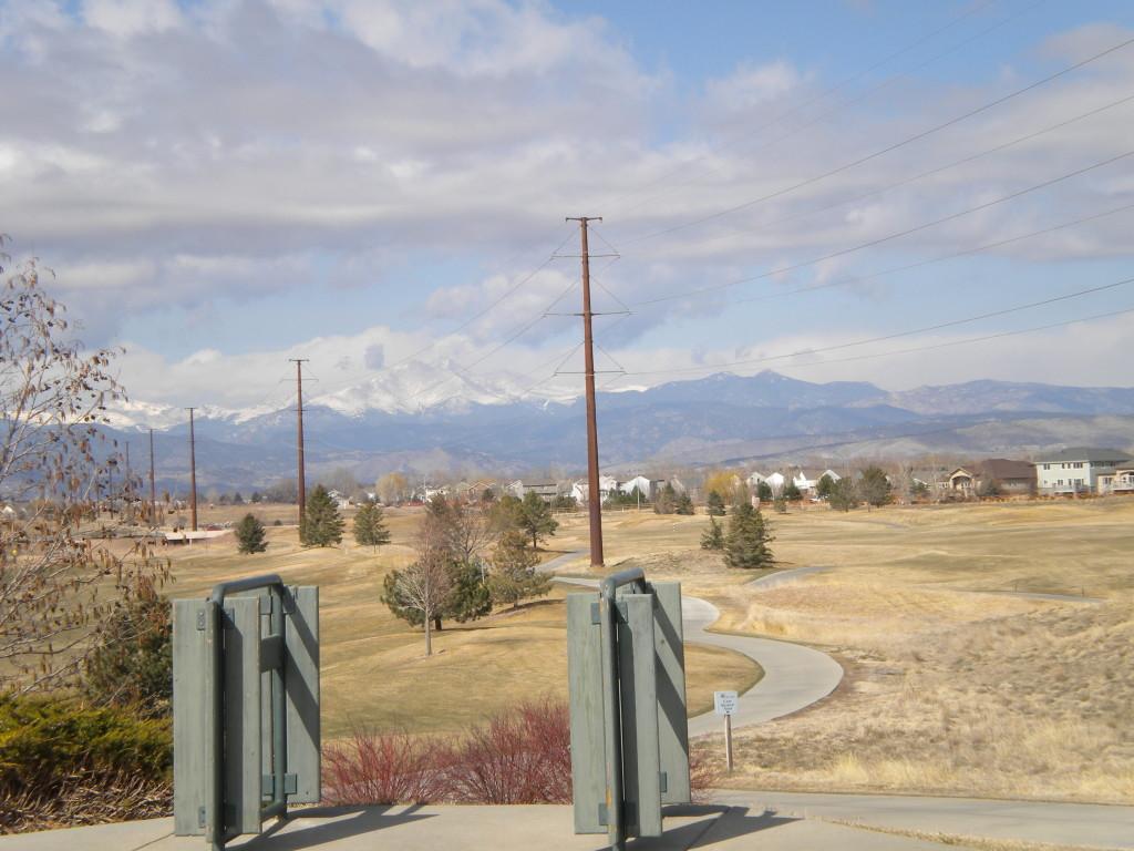 Ute Creek Golf Course vista
