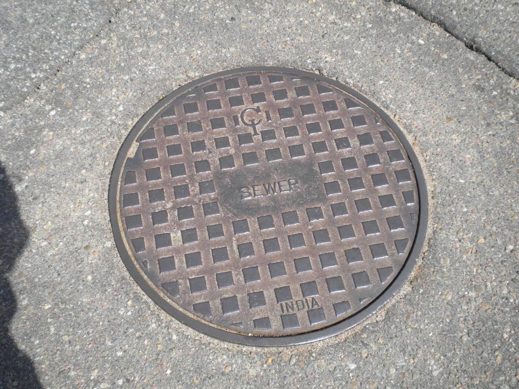 India manhole cover