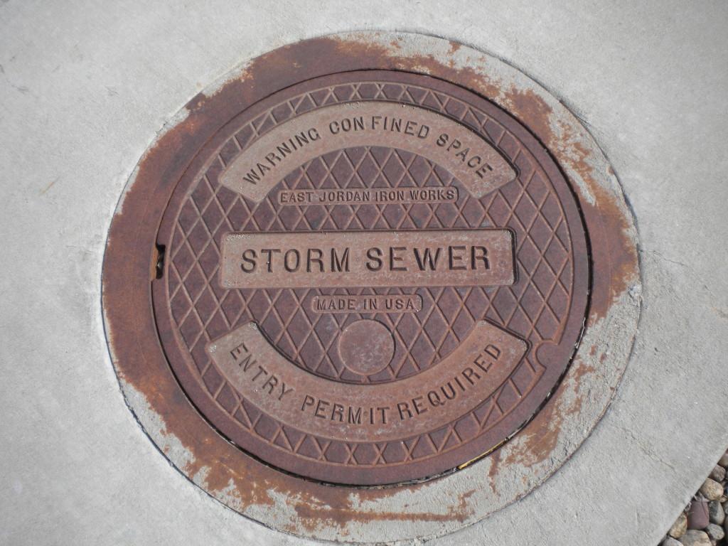 East Jordan manhole cover