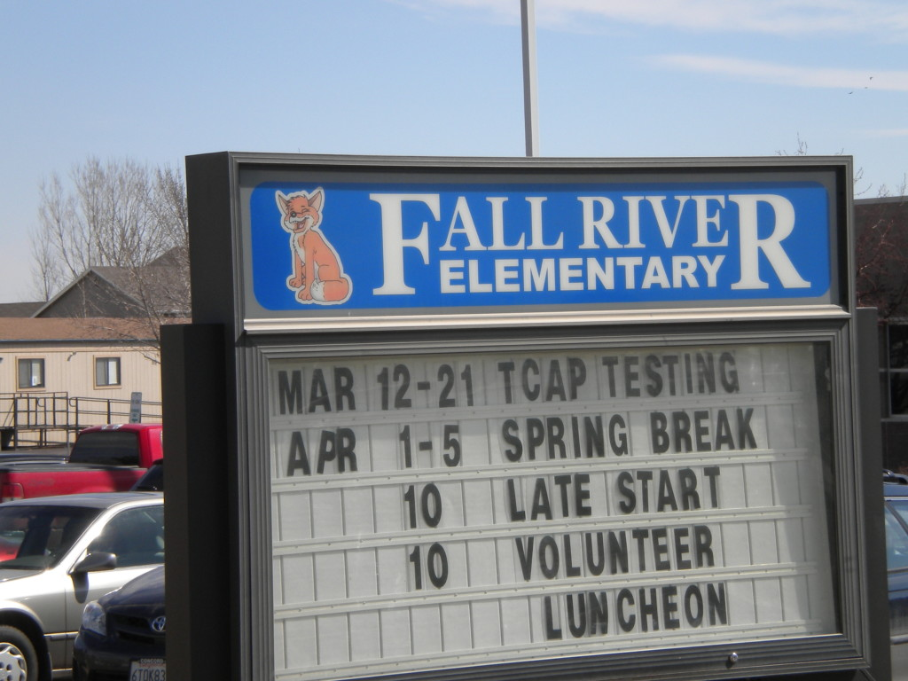 what's happening at Fall River Elementary
