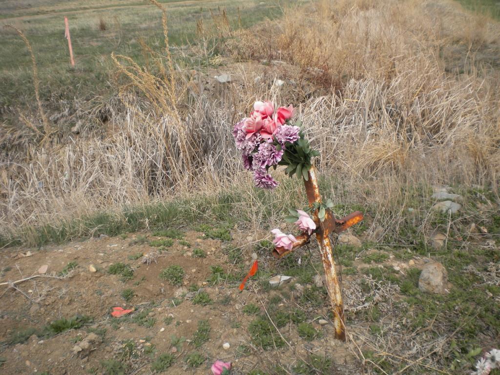 roadside memorial # 1