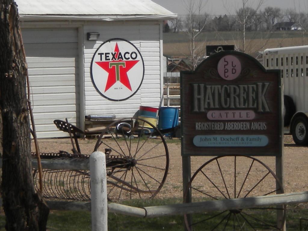 Texaco at the Docheff farm