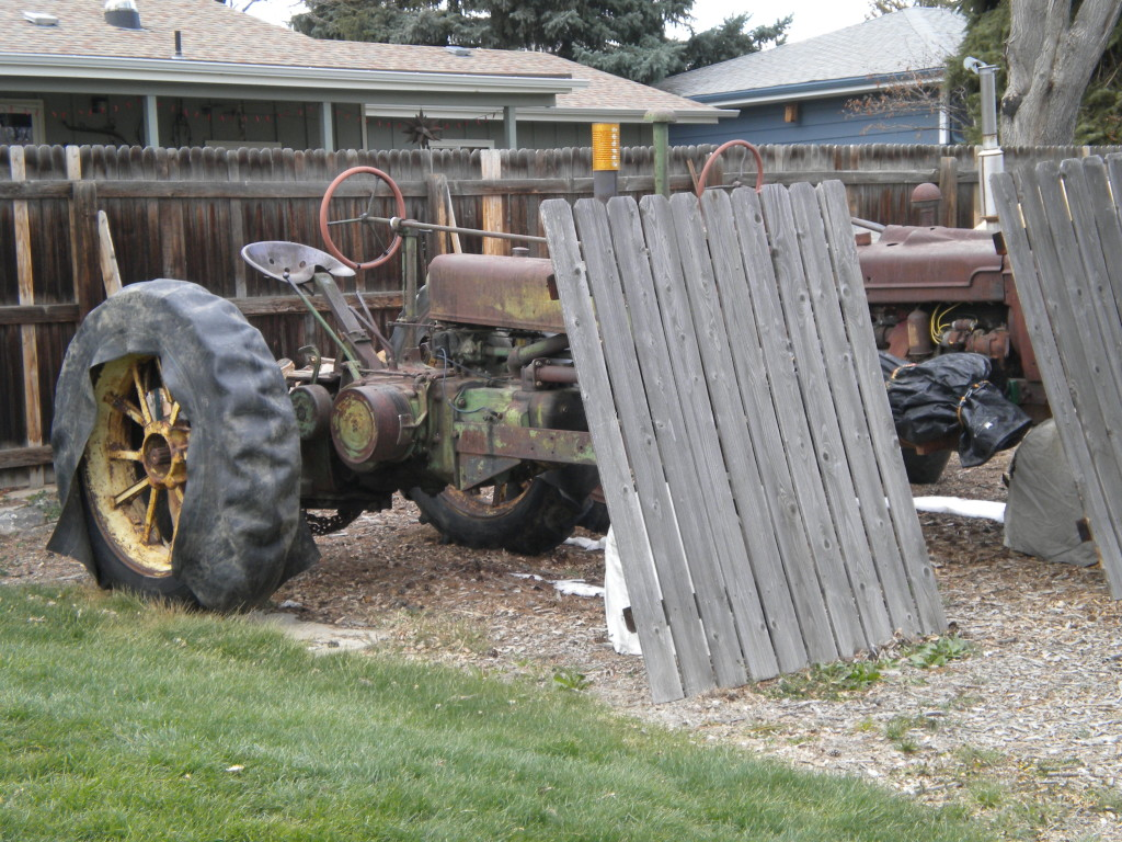 Two very old tractors