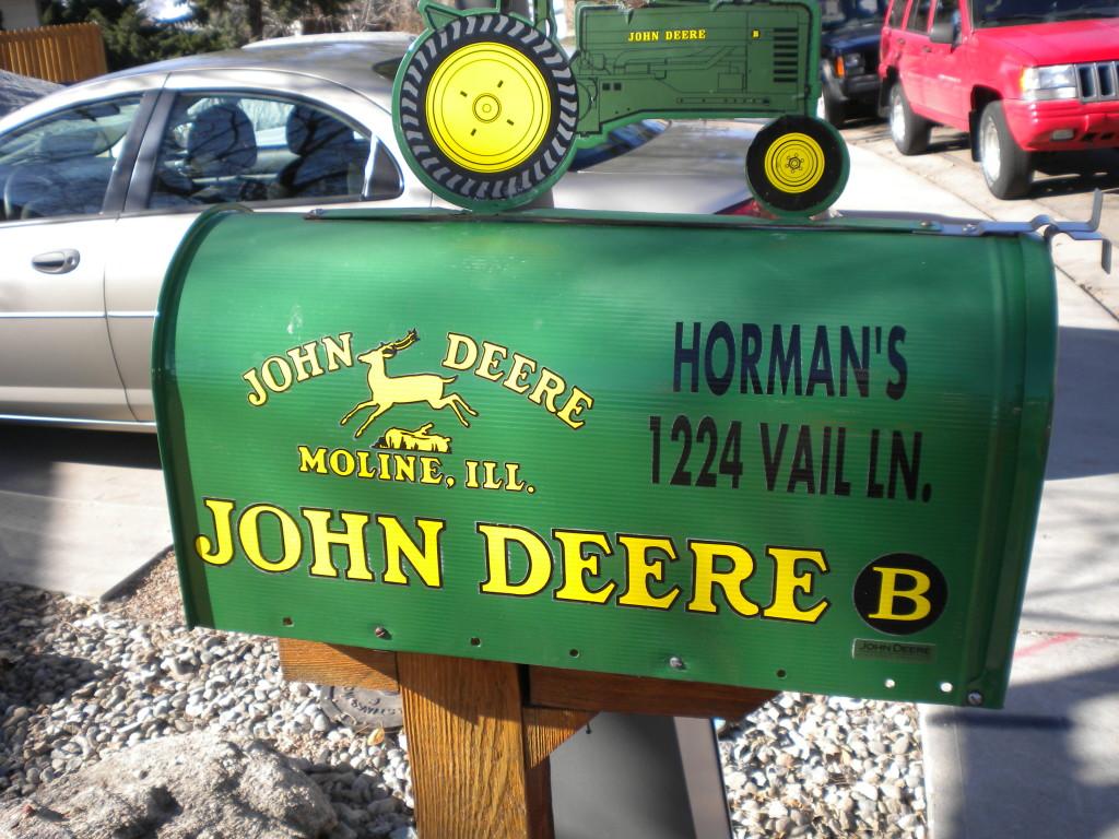 another John Deere fan