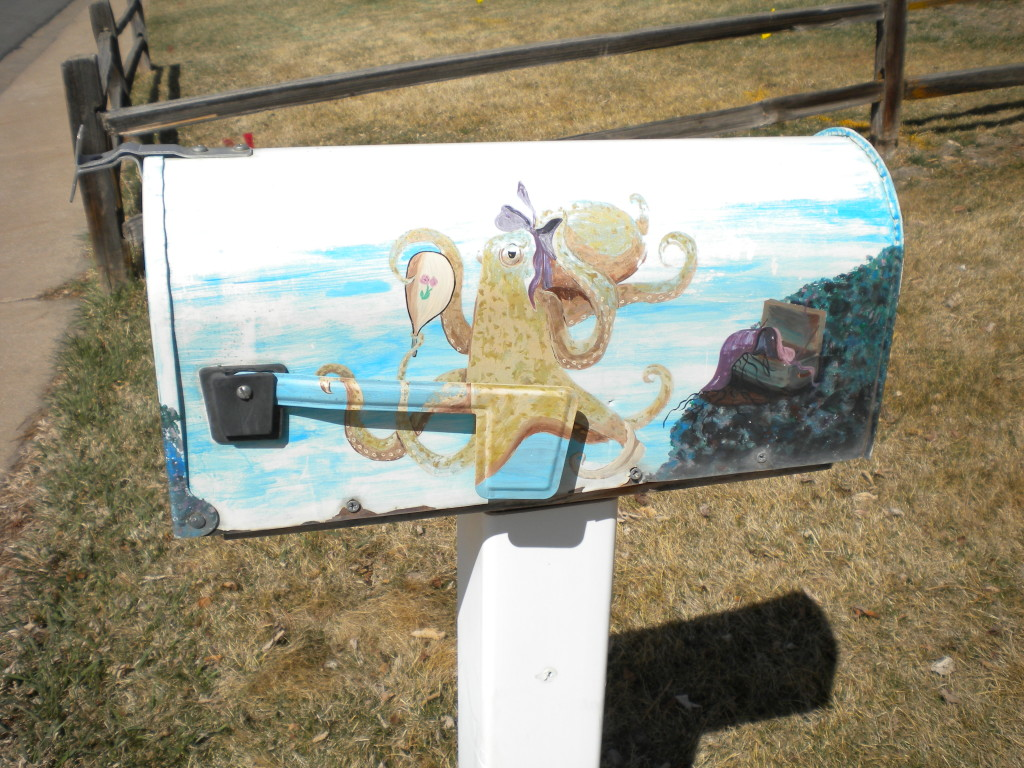 Octopus mailbox of the day