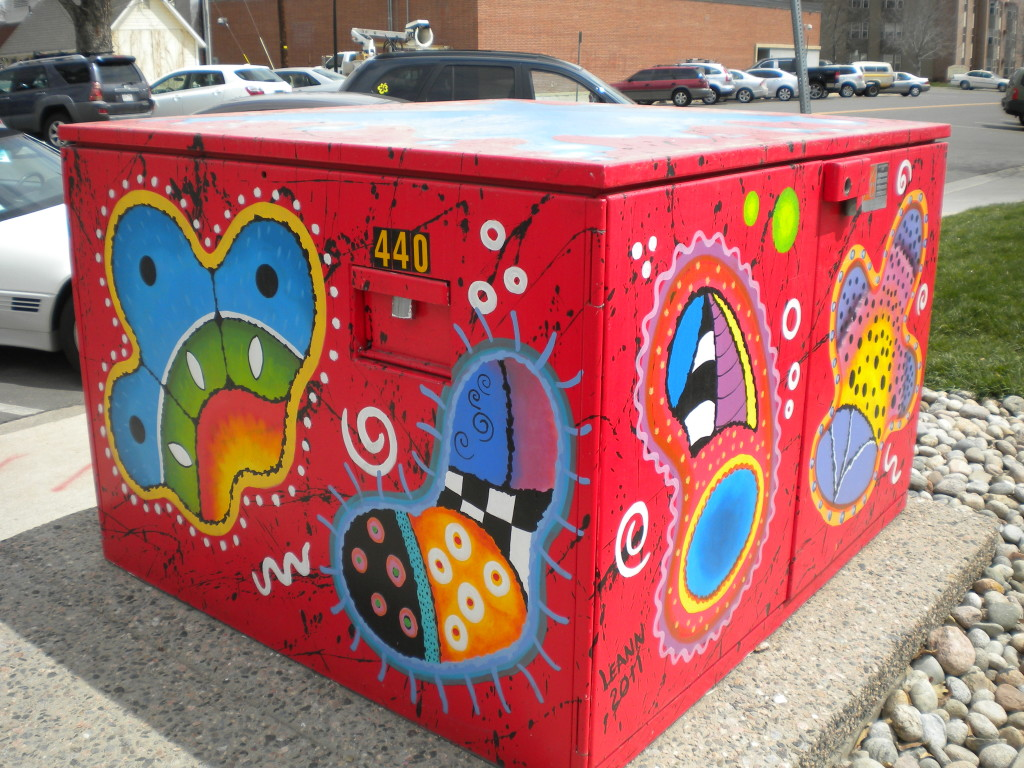 Electrical Box art (Leann 2011)