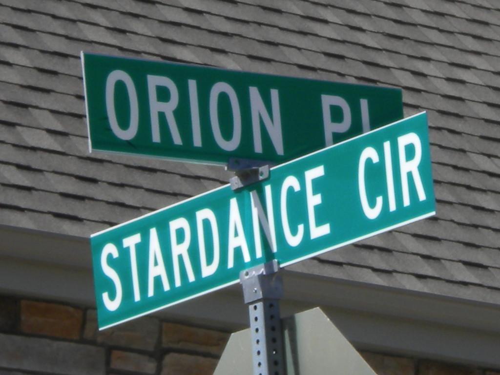a celestial neighborhood