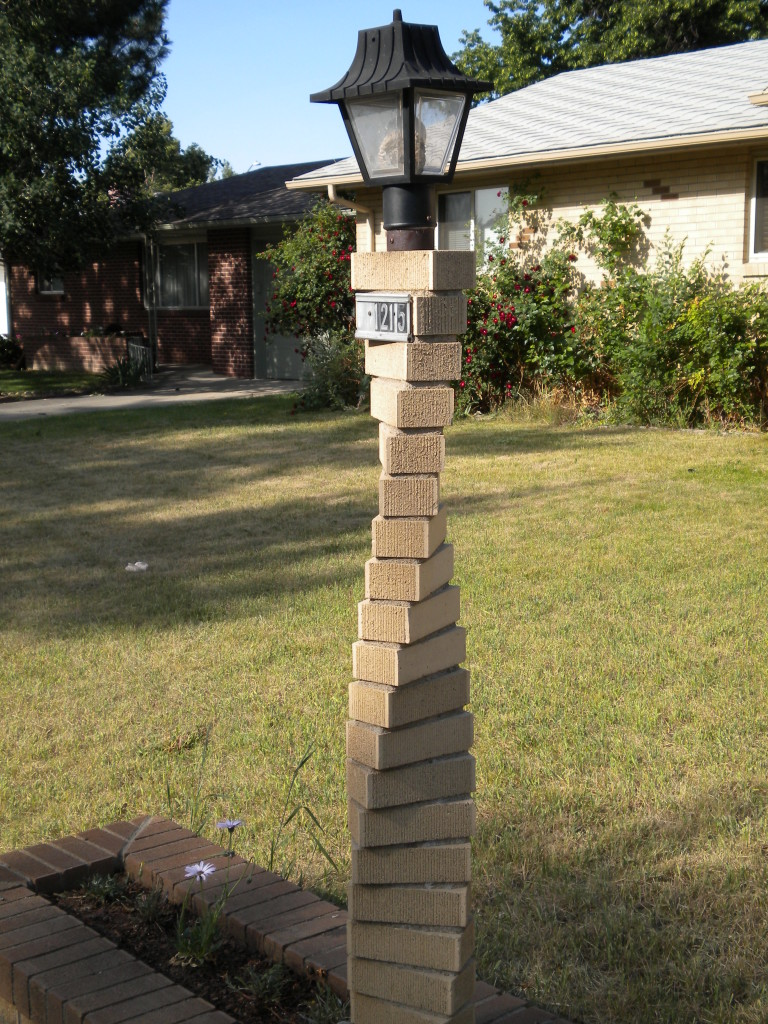 Spiral Lamp Post