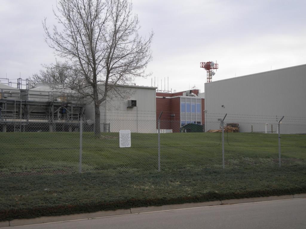 Air traffic control complex