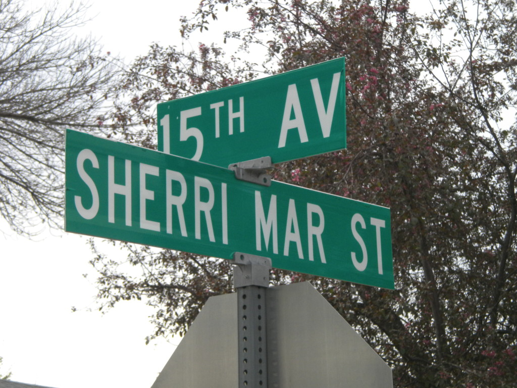 Does anybody know who Sherri Mar is/was?