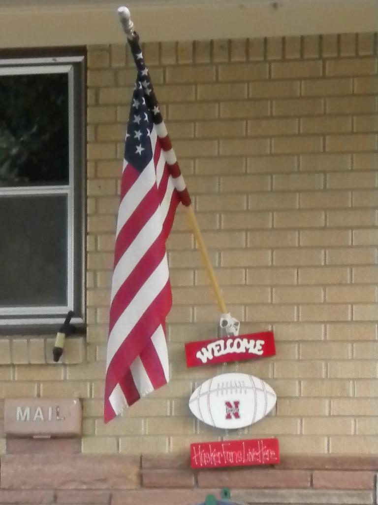Husker patriot