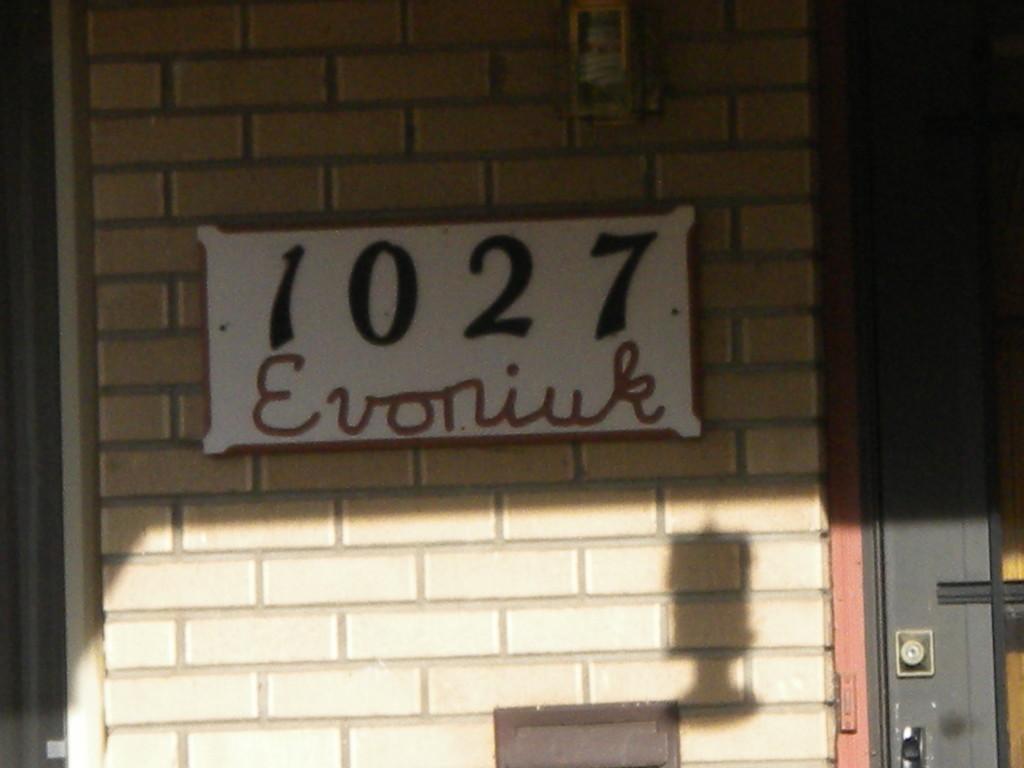 The Evoniuk House