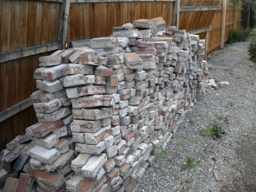 Bricks in the alley