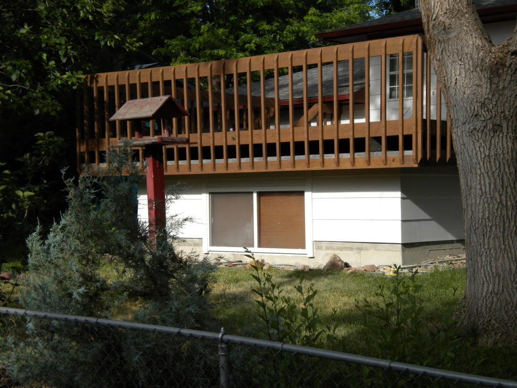 Low Roof Deck