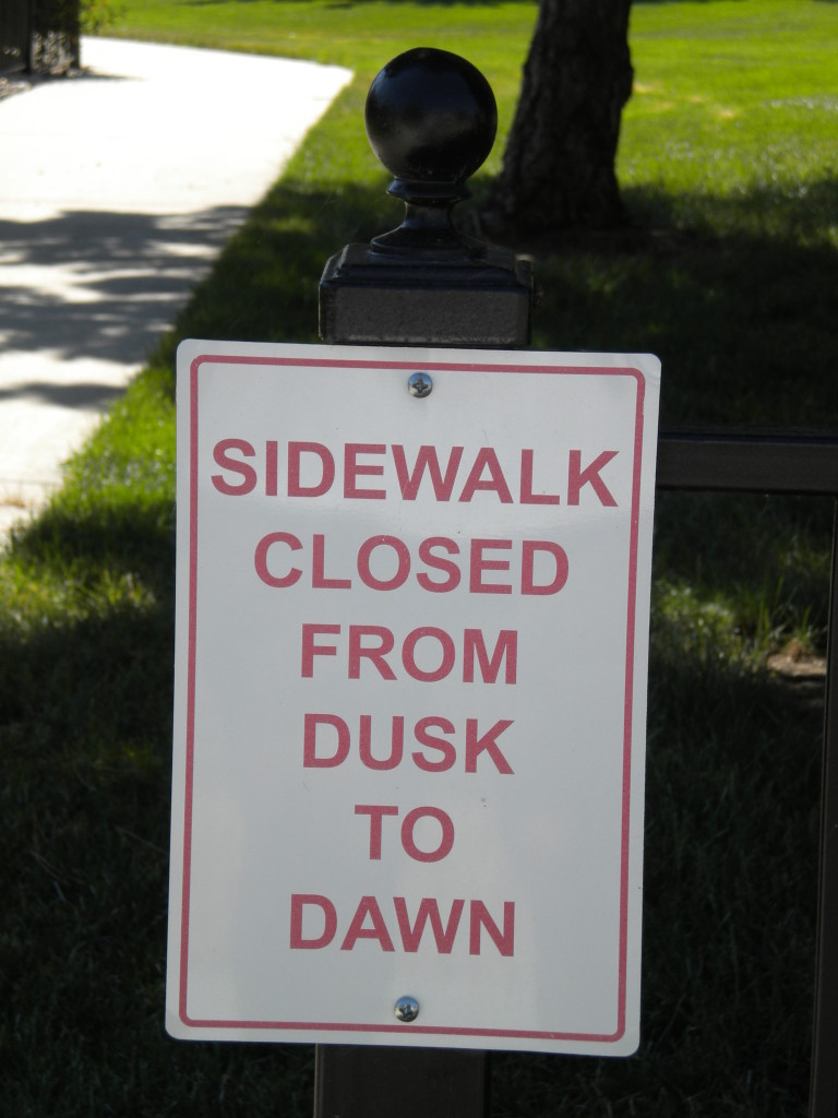 I wouldn't advise going here between dusk and dawn