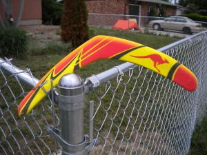 colorful boomerang