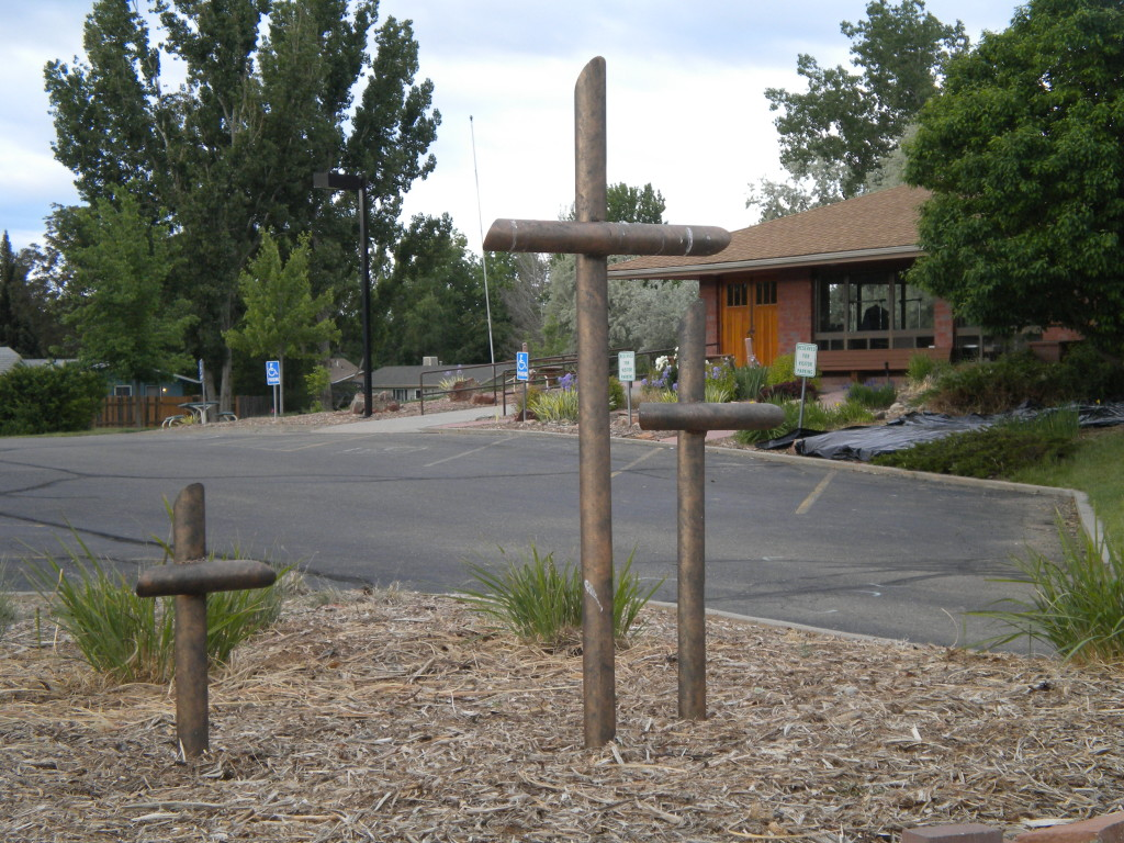 3 crosses at COS Lutheran