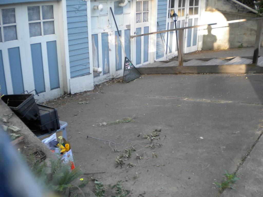 sunken driveway # 1