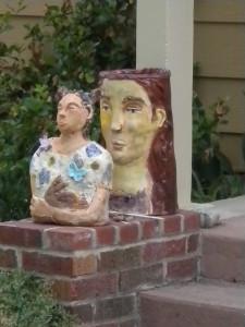 Front yard art