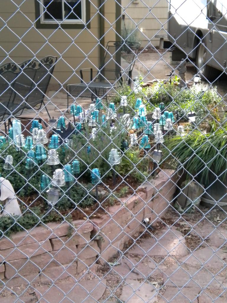 Electrical insulator garden