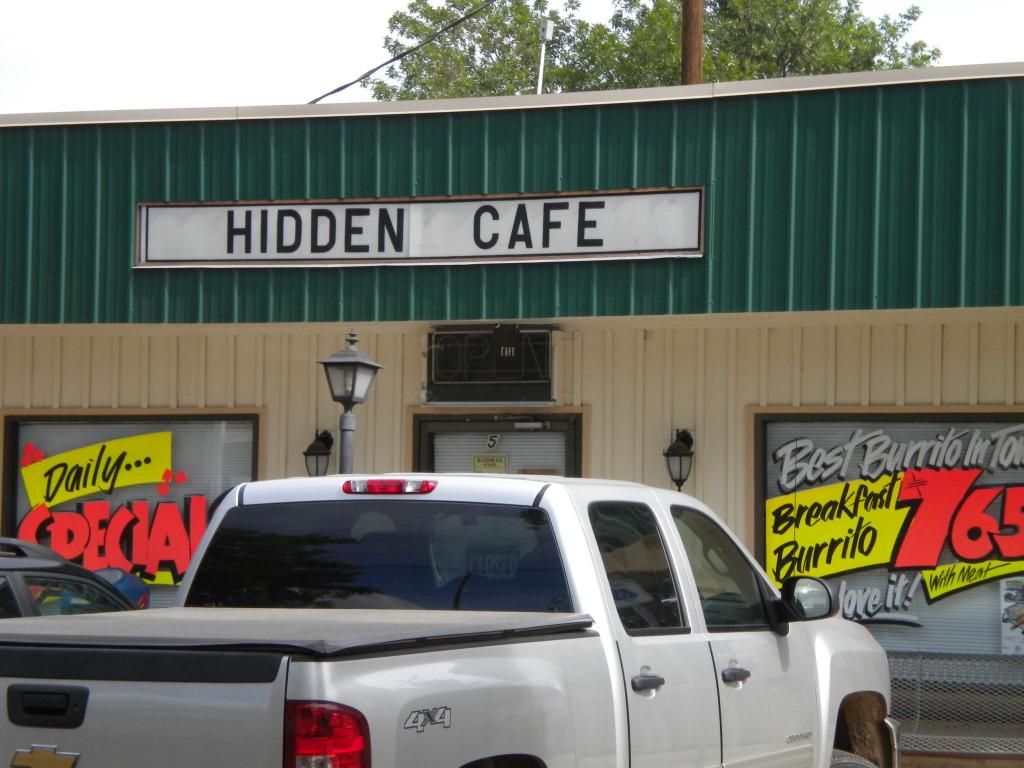 Hidden cafe