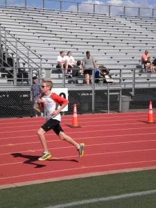 Zach has a fast finish!