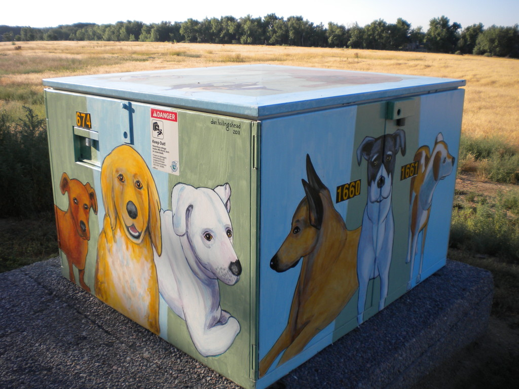 Dog Electrical box art # 1\