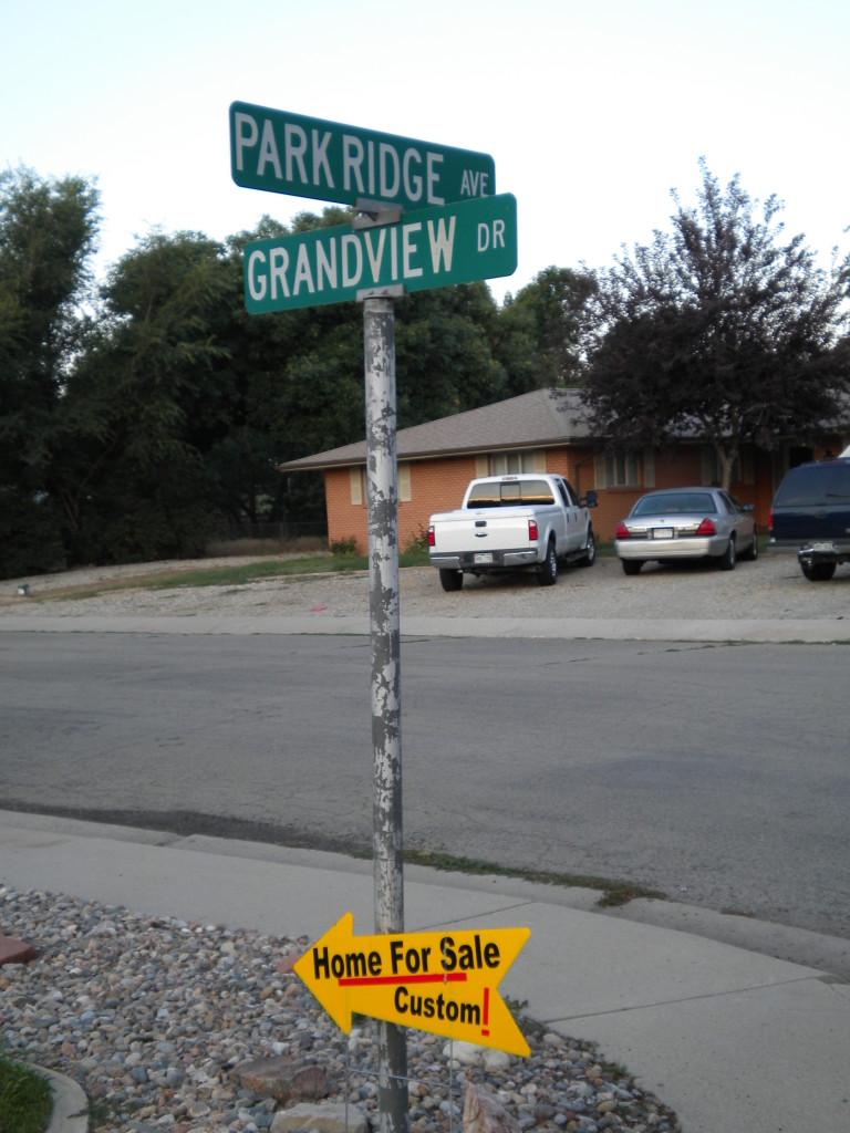 mini street signs