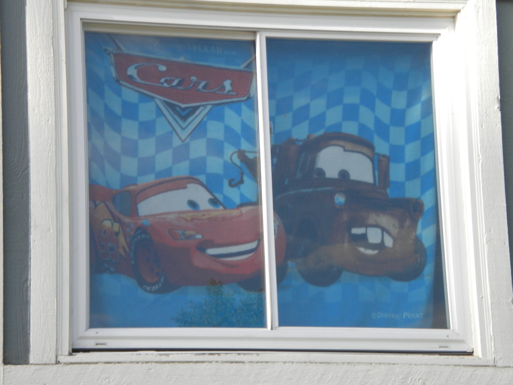 Cars in the window