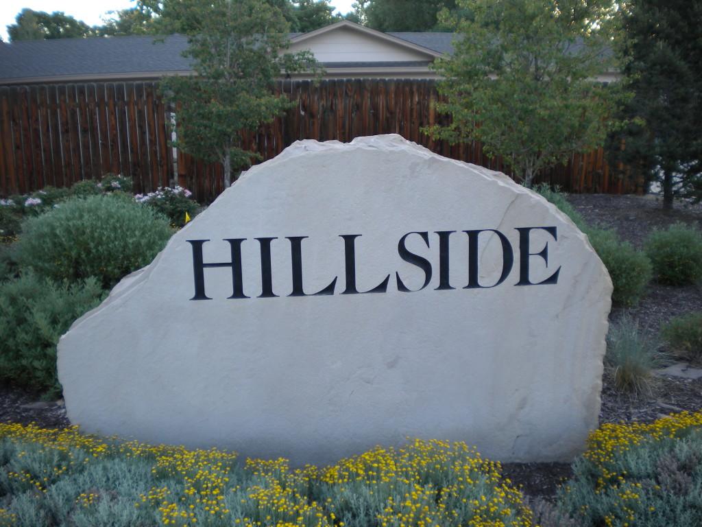 Hillside neighborhood