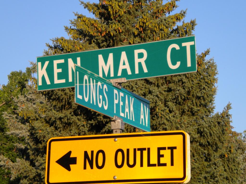 Ken Mar is a much shorter street that Sherri Mar