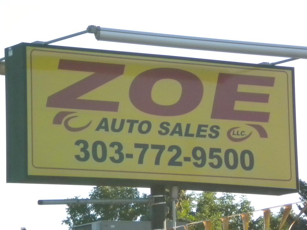 Zoe Auto Sales