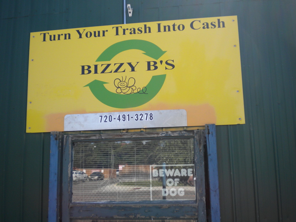 Bizzy B's recycling