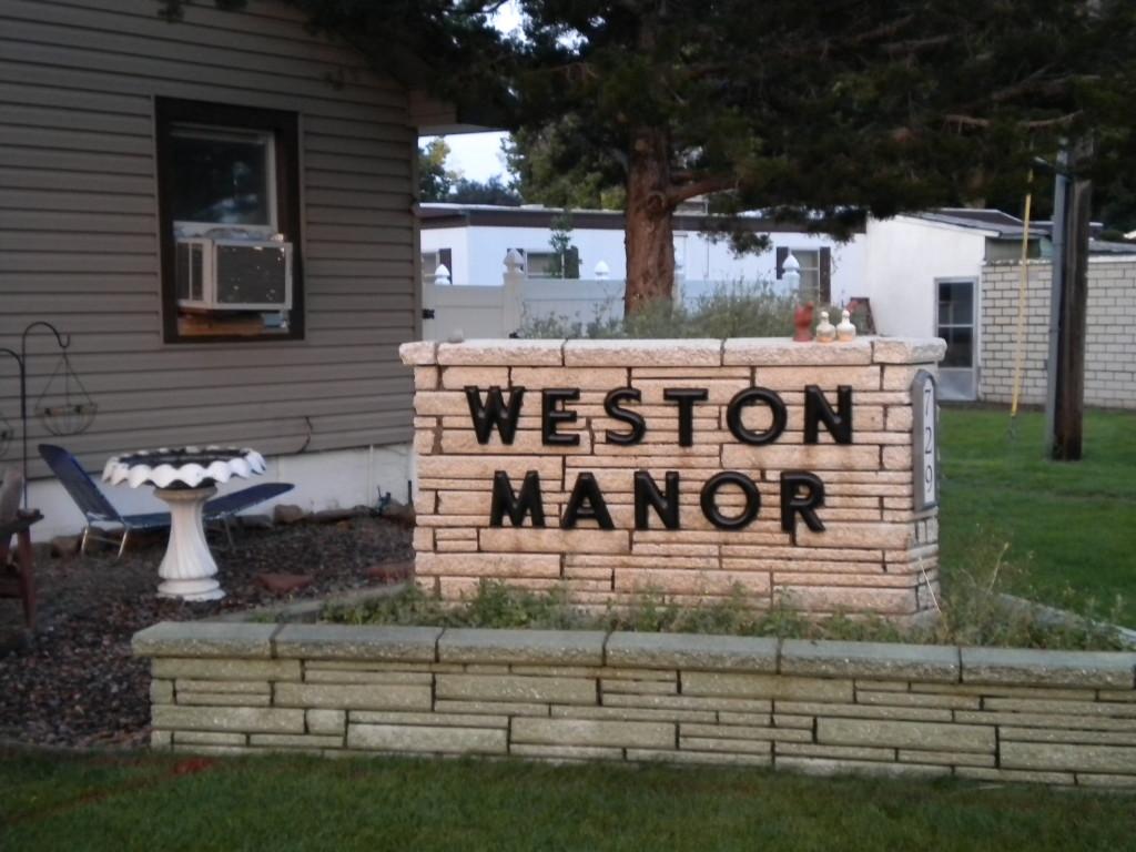 Weston Manor mobile home park