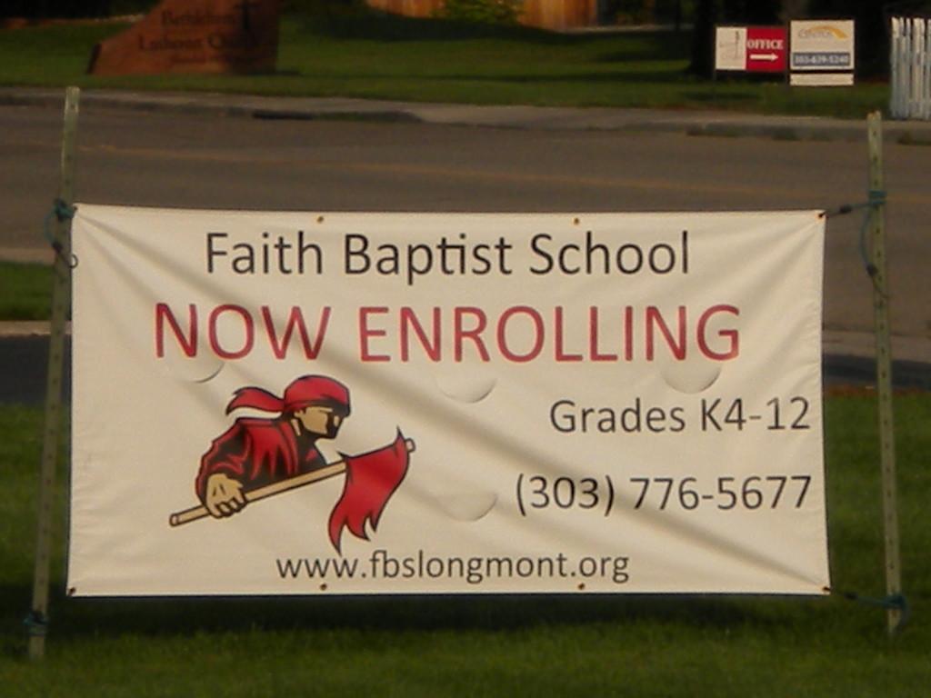 Faith Baptist school