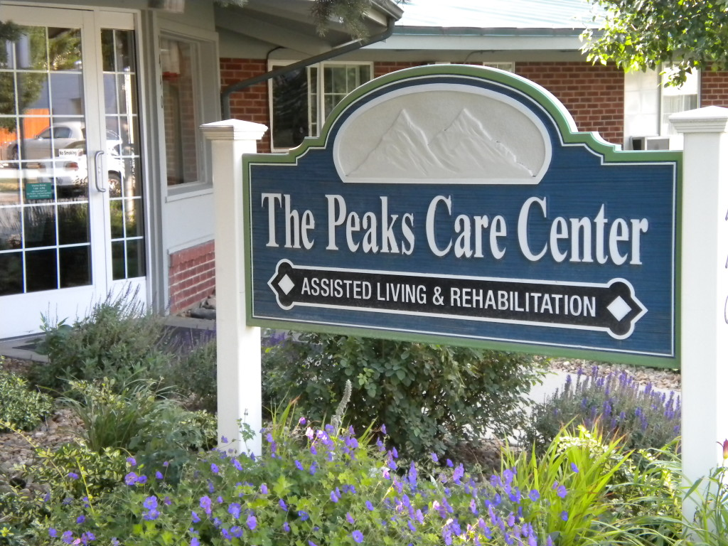 another side of The Peaks Care Center