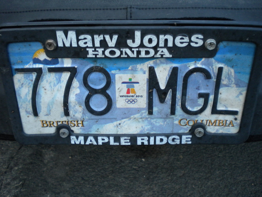 another British Columbia plate