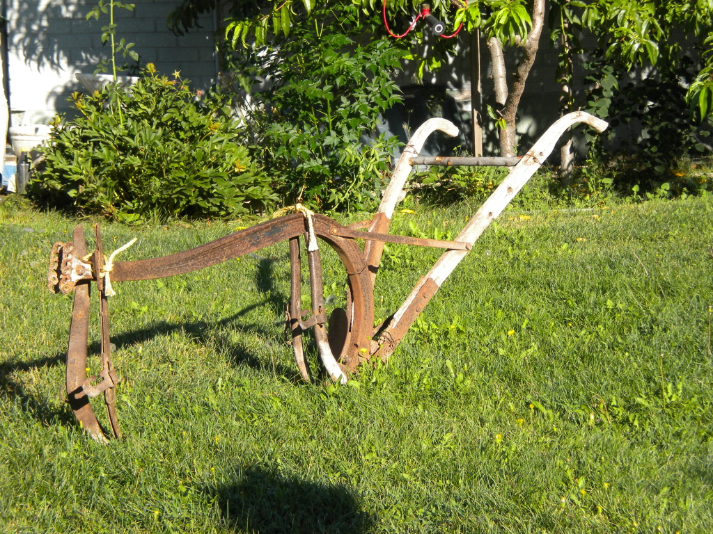 front yard plow